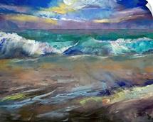Moonlit Waves