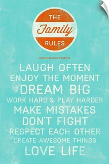 Dream Big Family Rules