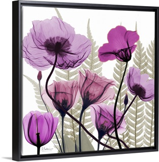 Xray Art X Ray Photography Flower Art Wall Canvases Great Big Canvas