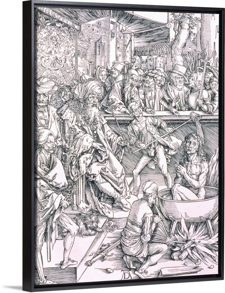 The Torture Of St John The Evangelist From The Apocalypse Series