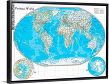 NGS Atlas of the World Eighth Edition political map of the world