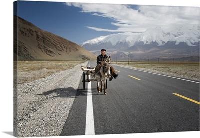 By Donkey On The Karakorum Highway