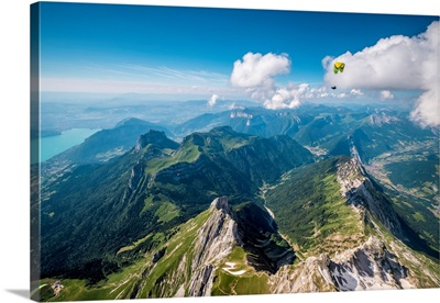 "Flying Above La Tournette With Francis Boehm ""Bimbo"