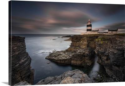 Lighthouse on Cliffs
