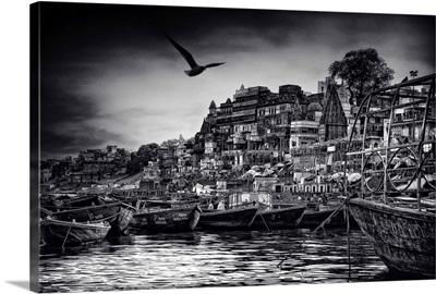 The Boats Of Varanasi