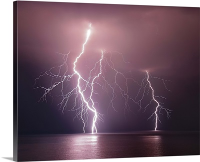 Thunderbolt Over The Sea