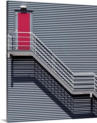 Upstairs To The Red Door