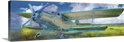 Air Plane Graffiti