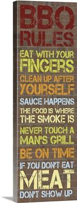 BBQ Rules I