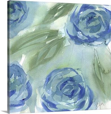 Blue Green Roses II