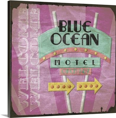 Blue Ocean Sign