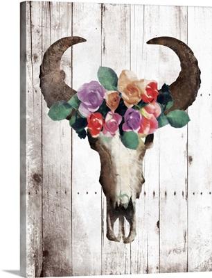 Bull Floral Crown