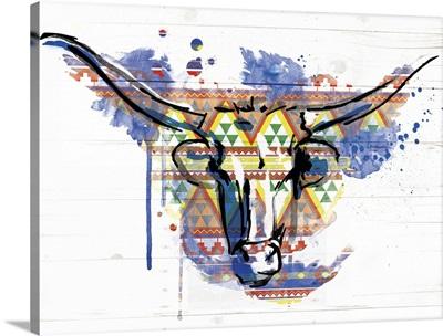 Bull Patterned