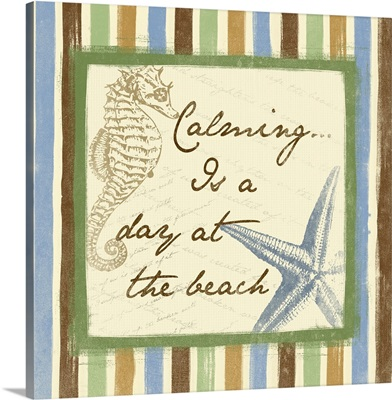 Calming Is A Day At The Beach