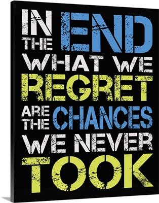 Chances Quote