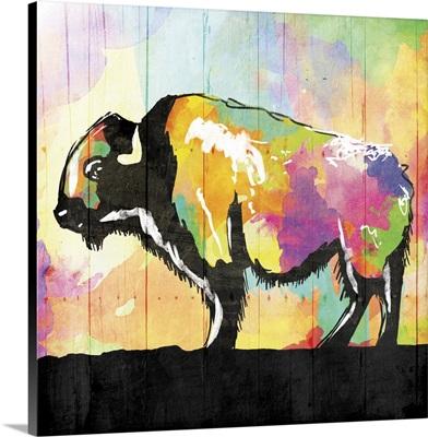Colorful Buffalo