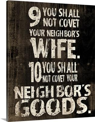 Commandments II