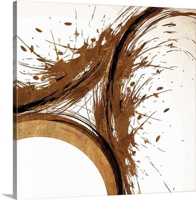 Copper Swirls I