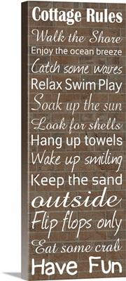 Cottage Rules I