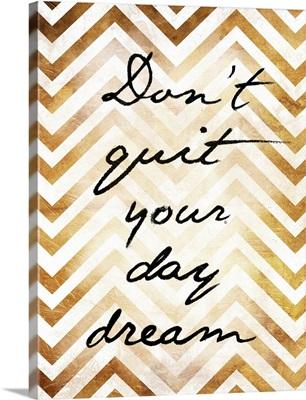 Don't Quit - Gold