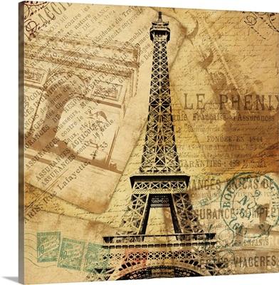 Eiffel Tower Bronze