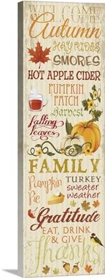 Fall Typography I - Cream