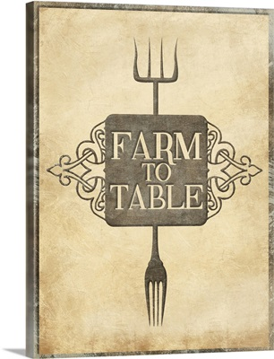Farm to Table Forks - Rust