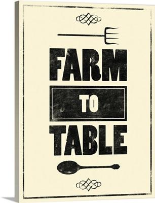 Farm to Table - Light