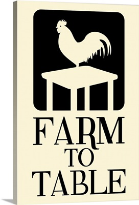 Farm to Table Rooster - Light