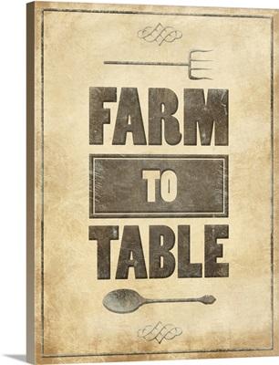 Farm to Table - Rust