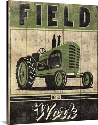 Farming Life Tractor Green