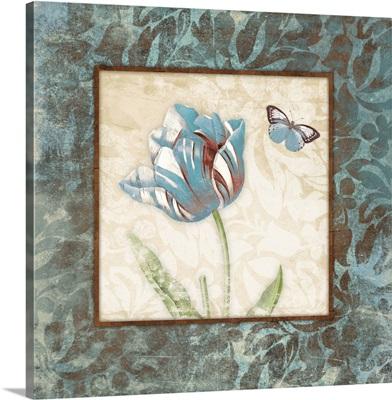Floral Blue Wonder II