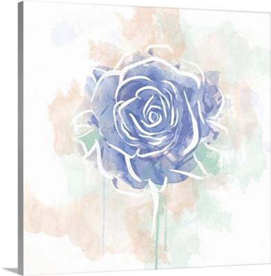 Floral Watercolor Rose