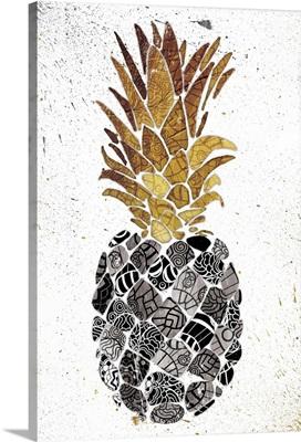 Golden Mandala Pineapple
