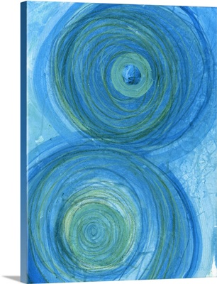 Green and Blue Whirls