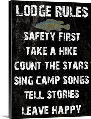 Lodge Rules