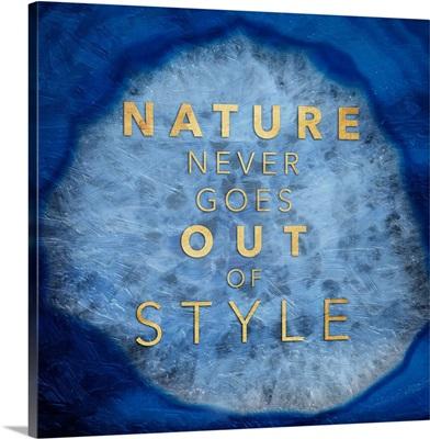 Nature Agate - Blue
