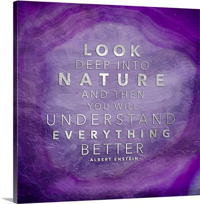 Nature Agate - Purple