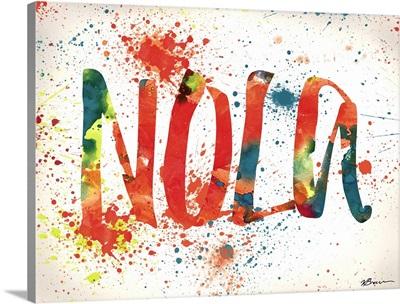 NOLA Watercolor