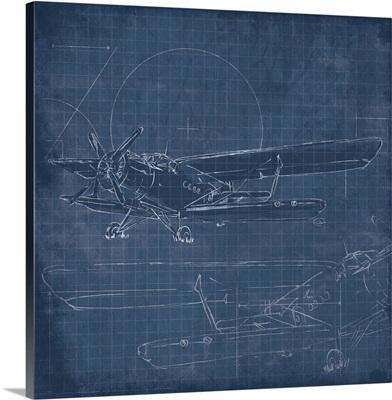 Plane Blue Print