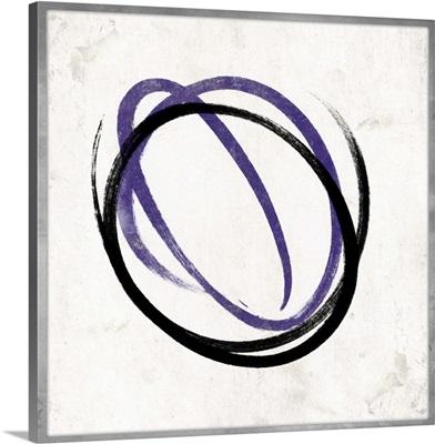 Purple Circle I
