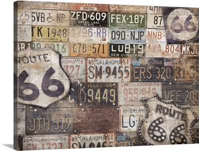 Route 66 Collage II