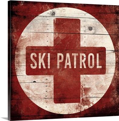 Ski Patrol Cross