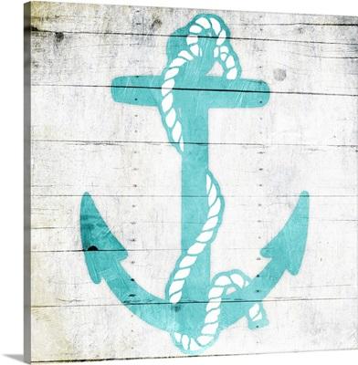 Teal Anchor
