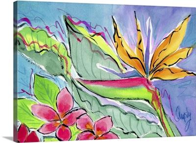 Tropical Floral I