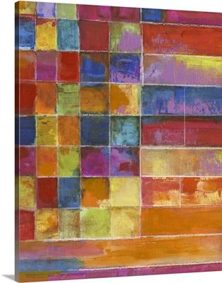 Vivid Color Block