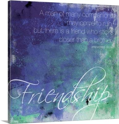 Watercolor Friendship