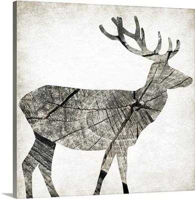 Wood Deer I