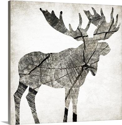 Wood Moose I