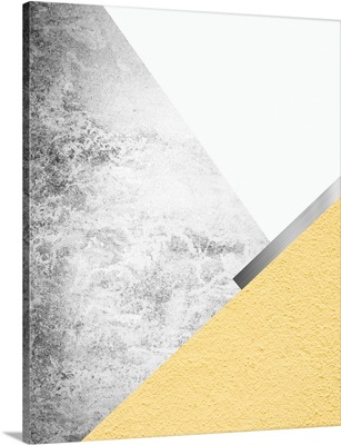 Yellow and Grey Mountains 1